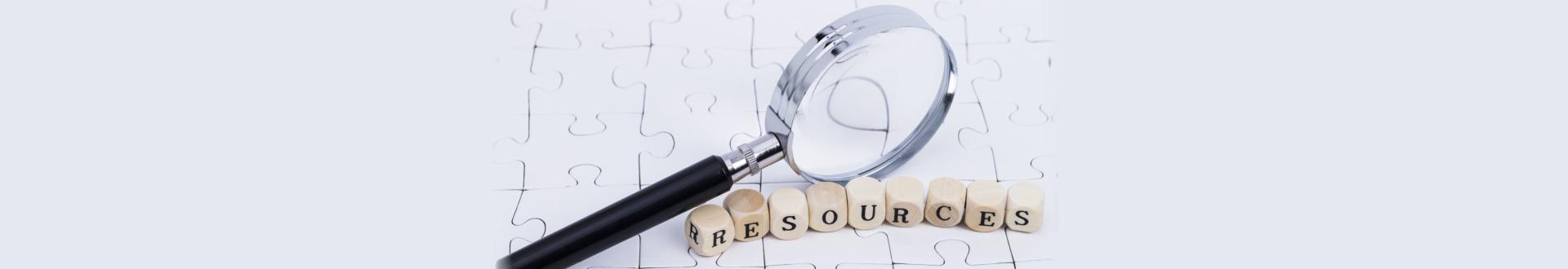 Resources concept